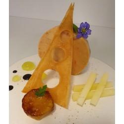 Foie gras mi-cuit - pomme...